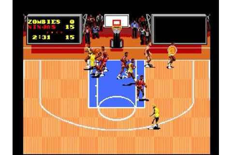 Turbografx-16 - TV Sports Basketball - YouTube