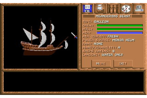 Spelljammer: Pirates of Realmspace (1992 - DOS). Ссылки ...