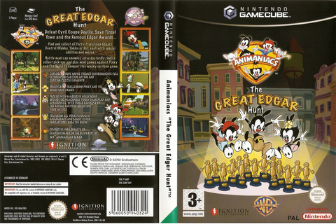GANP7U - Animaniacs: The Great Edgar Hunt