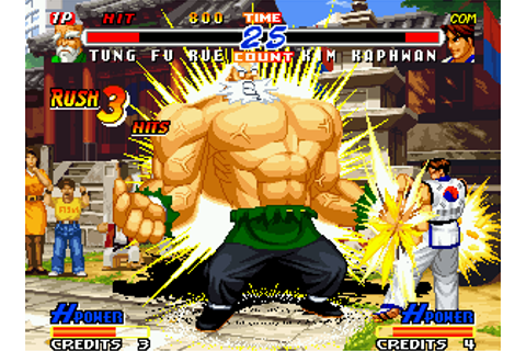 SFKOFFF: Game feature: Real Bout Fatal Fury 2: The Newcomers