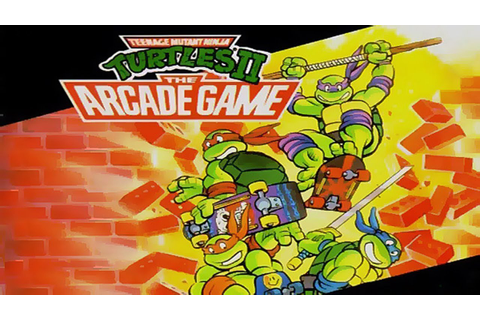 Teenage Mutant Ninja Turtles 2 The Arcade Game Full 2P Co ...
