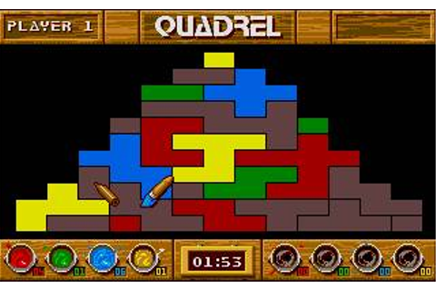 Quadrel Download (1990 Puzzle Game)