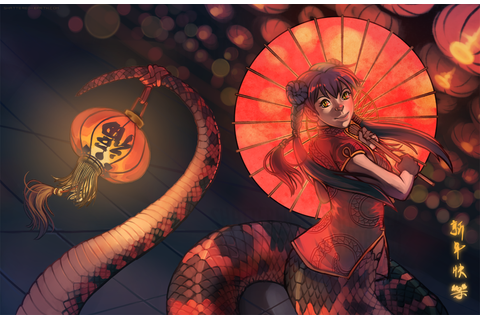 Year of the Snake! by Shattered-Earth on DeviantArt