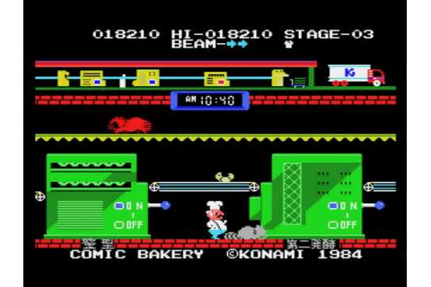 Comic Bakery (MSX) - YouTube