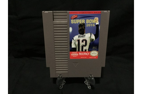 Tecmo Super Bowl 2016 2k16 Nintendo NES Game