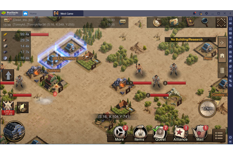 Starter Tips and Tricks for West Game | Bluestacks