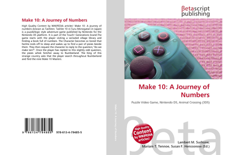 Make 10: A Journey of Numbers, 978-613-4-79485-5 ...
