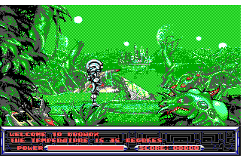 Metal Mutant Screenshots for DOS - MobyGames