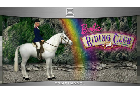 Barbie Riding Club (part 2) (Horse Game) - YouTube
