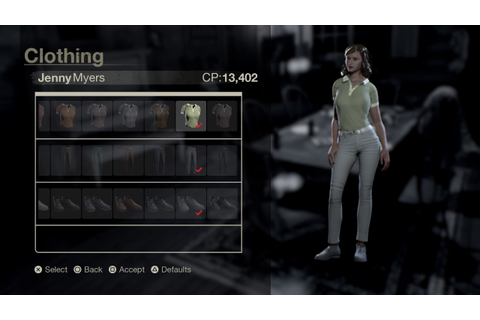 "Friday the 13th: The Game "" Jenny Myers Clothes "" - YouTube"