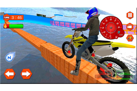 Extreme Bike Stunts Mania - Motor Games Android Gameplay ...