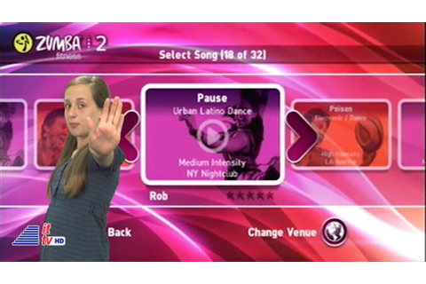 KidsTech: Zumba Fitness 2 Wii Game Review/Zumba Rush for ...