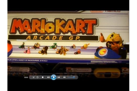 Mario Kart Arcade GP | Arcade game - YouTube