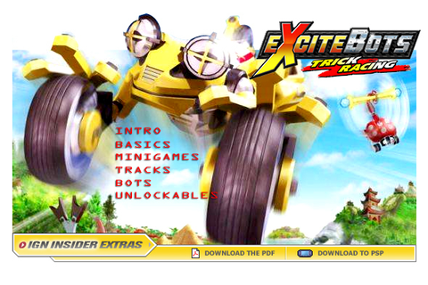 Excitebots: Trick Racing - wii - Walkthrough and Guide ...