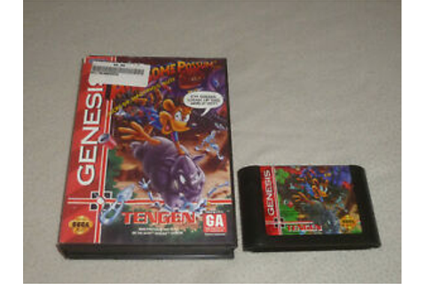 SEGA GENESIS VIDEO GAME AWESOME POSSUM KICKS DR MACHINOS ...