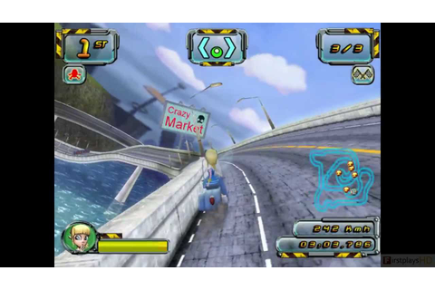 Crazy Frog Racer 2 PC Gameplay 1080P - YouTube