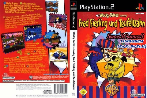 Wacky Races Starring Dastardly & Muttley Ps2 Patch - R$ 7 ...