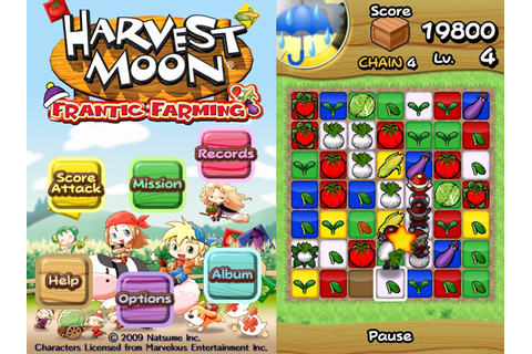 Harvest Moon comes to the iPhone with Frantic Farming