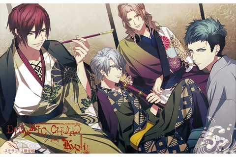 Wallpaper the game, group, anime, guys, Dynamic Chord ...