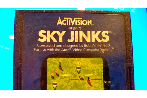Classic Game Room - SKY JINKS review for Atari 2600 - YouTube