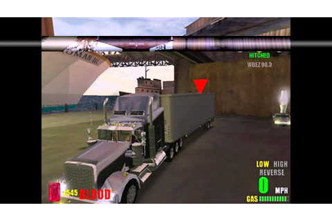 Rebel Trucker PC 2003 Gameplay - YouTube