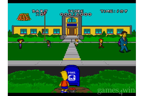 Simpsons: The Virtual Bart Download - Games4Win