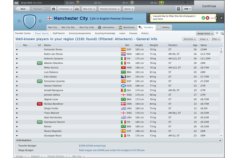 Football Manager 2011 for Mac - Download
