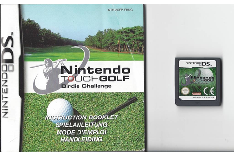 Nintendo Touch Golf Birdie Challenge for Nintendo DS NDS ...