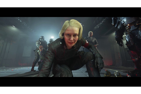 Wolfenstein 2 The New Colossus Gameplay from E3 2017 ...