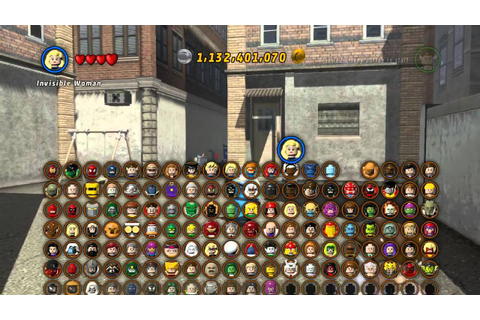 LEGO Marvel Super Heroes The Video Game - Mr Fantastic ...