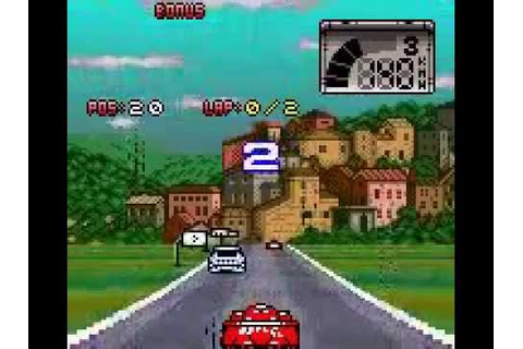 Test Drive Le Mans [GBC] - Gameplay (Arcade) - YouTube