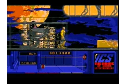 THE RUNNING MAN (AMIGA - FULL GAME) - YouTube