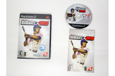 Major League Baseball 2K8 game for Sony PlayStation 2 ...