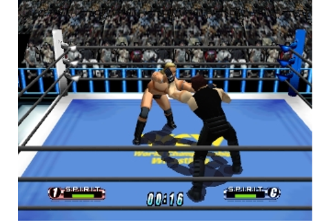 Virtual Pro Wrestling 64 (Japan) ROM