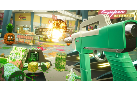 Scan and shoot: Shooty Fruity's VR splatfest in action ...