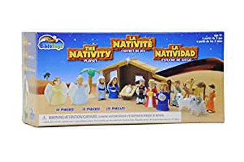 Amazon.com: Tales of Glory Nativity Playset: Toys & Games