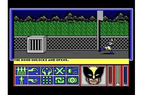 DOS Game: X-Men - Madness in Murderworld - YouTube