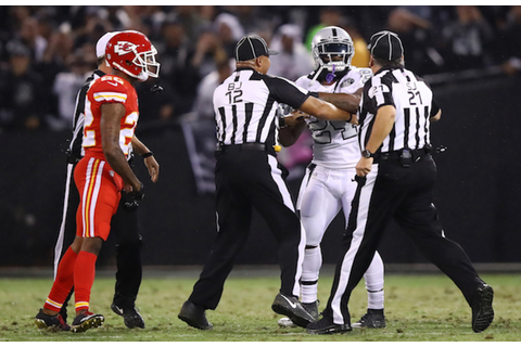Marshawn Lynch Suspended One Game for Pushing Ref | Complex