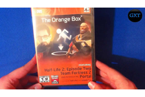 The Orange Box 5 Games All in One 2007 Video Game Unboxing ...