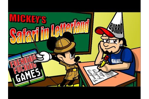 Mickey's Safari in Letterland - NES Gameplay - Educational ...