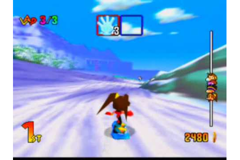 Snowboard Kids 2 Game Sample - N64 - YouTube
