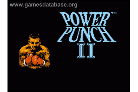 Power Punch 2 - Nintendo NES - Games Database