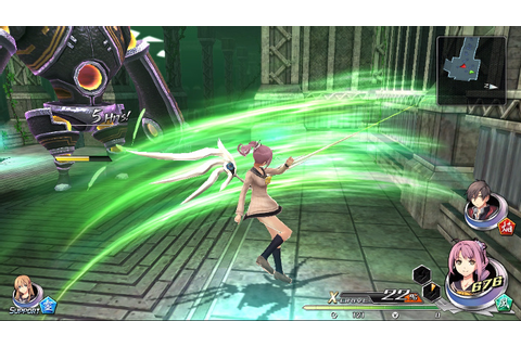 Tokyo Xanadu's seventh character, Rion Kugayama, is an ...