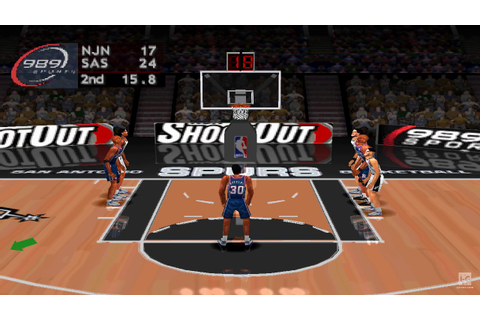 NBA ShootOut 2004 PS1 Gameplay HD - YouTube