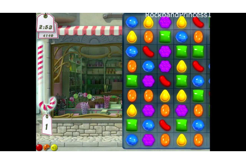 Candy Crush Saga Online Games - YouTube