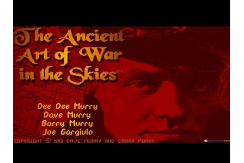 The Ancient Art of War in the Skies (Jeu PC) - Images ...