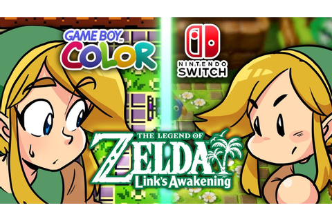 Zelda: Link's Awakening (Nintendo Switch VS Game Boy ...