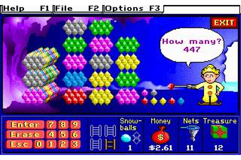 Super Solvers - Treasure MathStorm Download (1992 ...