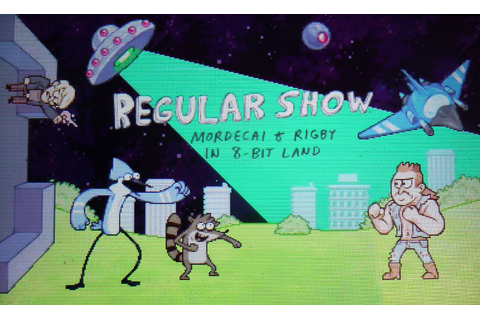 GAMES REVIEW - Regular Show: Mordecai & Rigby in 8-Bit ...