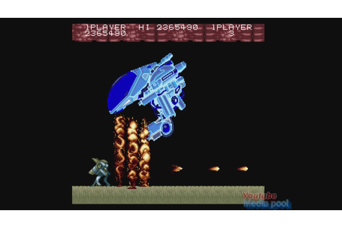 1989 Act-Fancer: Cybernetick Hyper Weapon (Arcade) Game ...